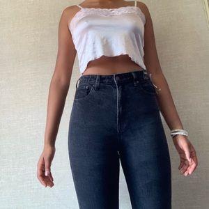 dark grey Abercrombie jeans